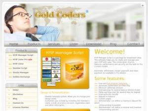 Скрипт для hyip goldcoders инвестиционные проекты для интернета